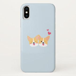 Funda Para iPhone X Caso lindo de Iphone X del perro del Corgi