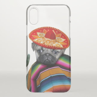 Funda Para iPhone X Caso mexicano del iphone x del perro del barro