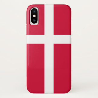 Funda Para iPhone X Caso patriótico de Iphone X con la bandera de