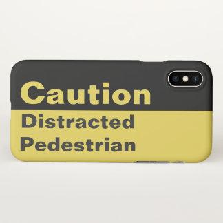 Funda Para iPhone X Caso peatonal distraído el | del iPhone de la