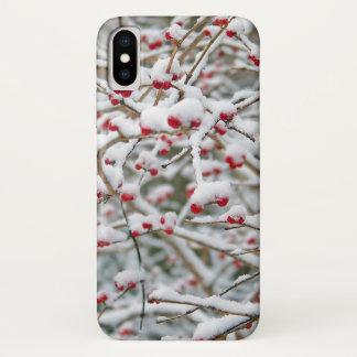 Funda Para iPhone X celebraciones de la alegría del regalo del arr de