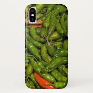 Funda Para iPhone X Chilis para la venta en el mercado