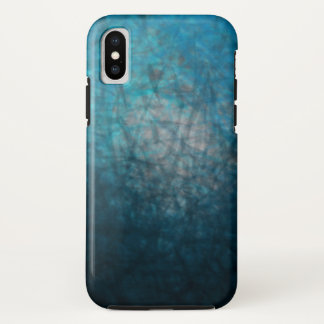 Funda Para iPhone X Ciánico atmosférico - caso del iPhone X de Apple