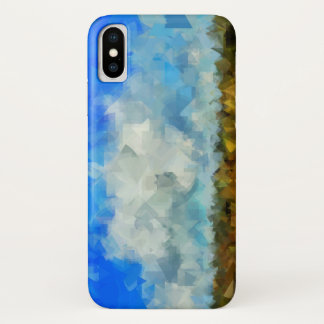 Funda Para iPhone X Cielo abstracto