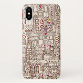 Funda Para iPhone X ciudad del pan de jengibre