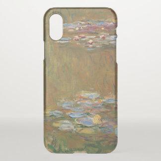 Funda Para iPhone X Claude Monet el vintage de GalleryHD de la charca