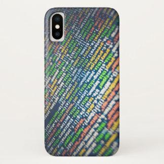 Funda Para iPhone X Código