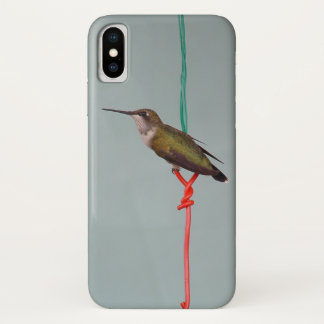 Funda Para iPhone X Colibrí