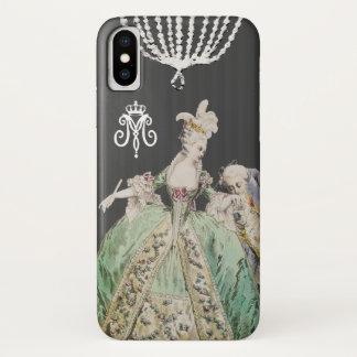 Funda Para iPhone X COLOR del CAMBIO de Marie Antonieta -