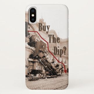 Funda Para iPhone X Compre el humor del mercado de acción de la