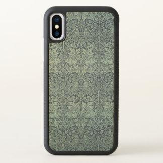 Funda Para iPhone X Conejo GalleryHD de William Morris Brer del arte