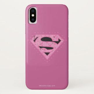 Funda Para iPhone X Corazones de Supergirl