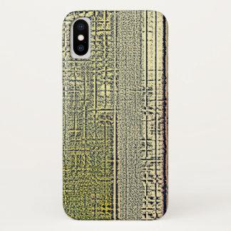 Funda Para iPhone X Cristales de oro