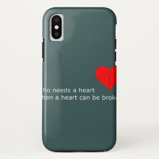 Funda Para iPhone X Cuál es el amor consiguió hacer con él