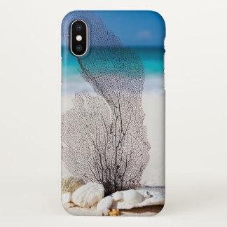 Funda Para iPhone X Cubierta del iphone de la playa del océano