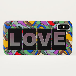 Funda Para iPhone X Cubierta del iPhone X del amor