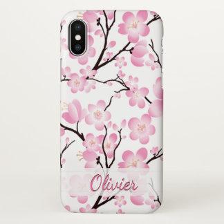Funda Para iPhone X cubierta elegante del caso del iphone x de la flor