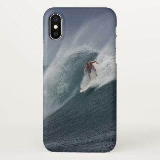 Funda Para iPhone X Cubierta grande del iphone de la onda de la vida