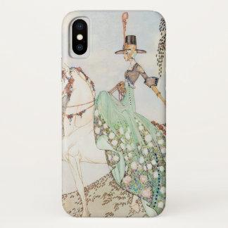 Funda Para iPhone X Cuento de hadas del vintage, princesa Minette, Kay