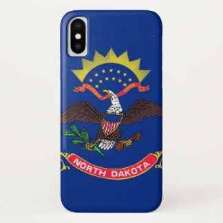 Funda Para iPhone X Dakota del Norte