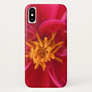 Funda Para iPhone X Dalia roja bonita -