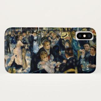 Funda Para iPhone X Danza en el la Galette de Le Moulin de