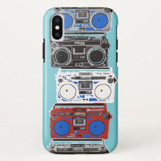 Funda Para iPhone X Dé vuelta encima del caso de la célula del golpe