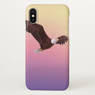 Funda Para iPhone X Deje el caso del iphone de la mosca de Eagle