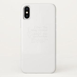 Funda Para iPhone X Del carpintero regalo nunca divertido