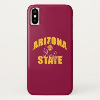 Funda Para iPhone X Diablo de Sun del estado de Arizona
