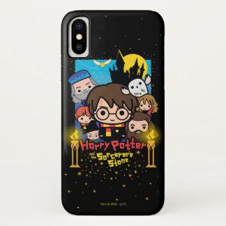 Funda Para iPhone X Dibujo animado Harry Potter y la piedra del