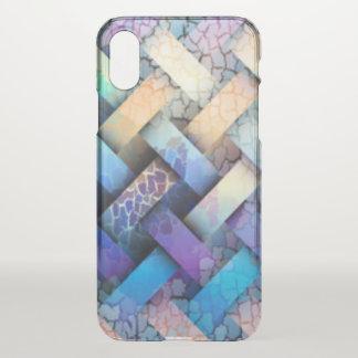 Funda Para iPhone X Diseño coloreado multi de la armadura de cesta