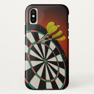 Funda Para iPhone X Diseño de los dardos