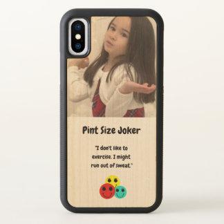 Funda Para iPhone X Diseño del comodín del tamaño de la pinta: