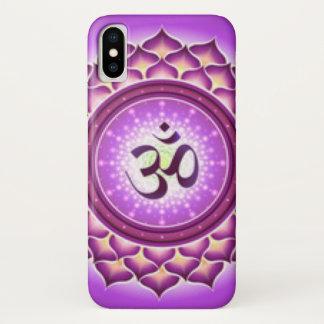 Funda Para iPhone X Diseño del modelo de Chakra de la corona