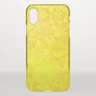 Funda Para iPhone X Diseño geométrico abstracto de LoveGeo - campeón