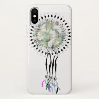 Funda Para iPhone X Dreamcatcher azteca