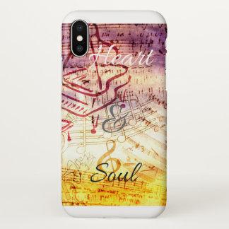 Funda Para iPhone X El amante de la música