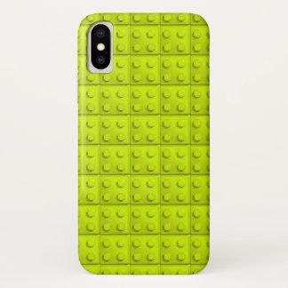 Funda Para iPhone X El amarillo bloquea el modelo