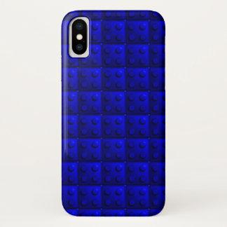 Funda Para iPhone X El azul bloquea el modelo