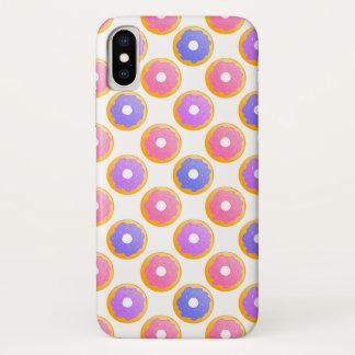 Funda Para iPhone X El buñuelo con asperja - la caja del teléfono