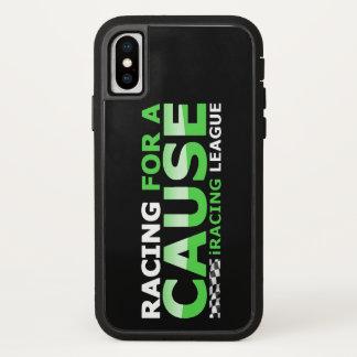 Funda Para iPhone X El competir con para un caso duro de la causa
