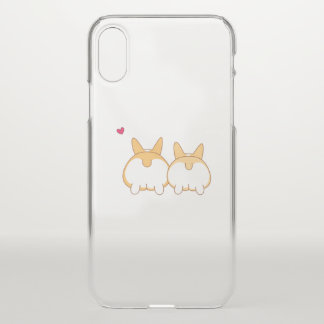 Funda Para iPhone X El Corgi empalma la caja del iPhone X