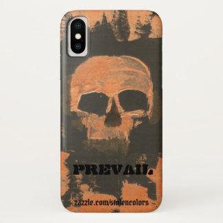 Funda Para iPhone X El cráneo de cobre prevalece