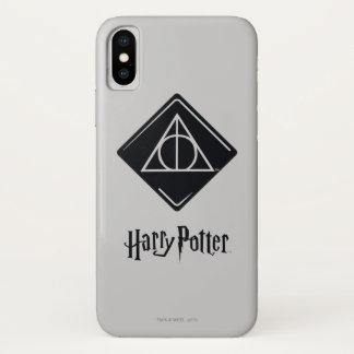 Funda Para iPhone X El encanto el | de Harry Potter mortal santifica