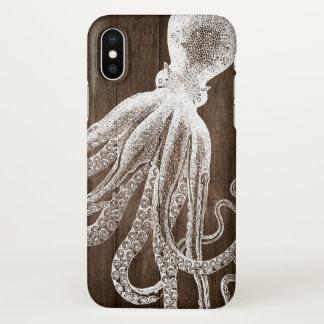 Funda Para iPhone X El ilustracion de los tentáculos del pulpo de