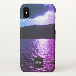 Funda Para iPhone X El iPhone X Shell duro de WinterLake Apple llama