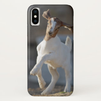 Funda Para iPhone X El jugar de la cabra del niño