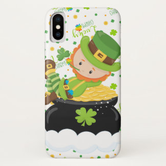 Funda Para iPhone X El Leprechaun del arroz del St