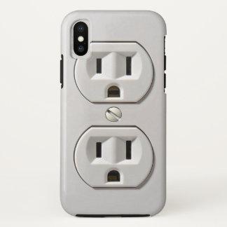 Funda Para iPhone X El mercado eléctrico enchufa el caso del iPhone X